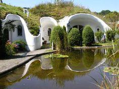 Architect - Peter Vetsch: - Hidden Earth Houses buried deep into the hills of Switzerland