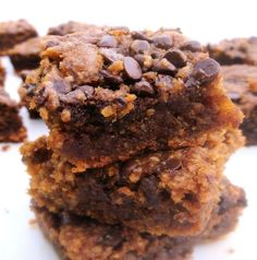 """Pumpkies (Pumpkin Brownies) Recipe = the pumpkin version of the phenomenal not-quite-cookies-not-quite-cakes-oh-so-gooey """"ies"""" baking category."""