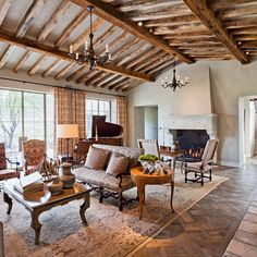 Love Rustic Ceiling & Floor