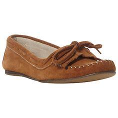 snaffl trim, buy dune, john lewi, lydia sued, dune lydia, tan, trim moccasin, sued snaffl, moccasin loafer