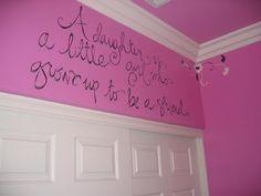 What a great saying, so true girl idea, little girls, daughter, babies nursery, babi girl, kid room, friend