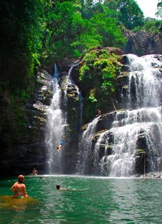 Nauyaca waterfalls, one great tour I recommend when in the area of Costa Ballena, southern Pacific of Costa Rica. Here´s our quick guide to the area www.costaricatraveler.com/english/article.php?id=271 /