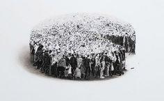 Lu Chao – Black Forest @ Hadrien de Montferrand (Beijing) - Lu Chao – Black Forest, 2013 - Oil on canvas (90 x 120 cm)