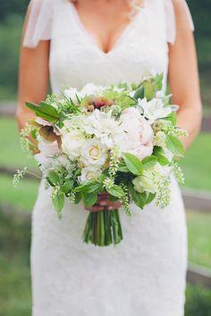 white bouquet by WildflowersByDesign.com