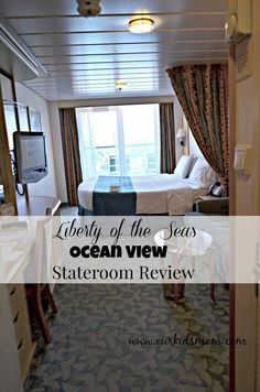 Liberty of the Seas Ocean View Stateroom with Balcony Review #SeastheDay