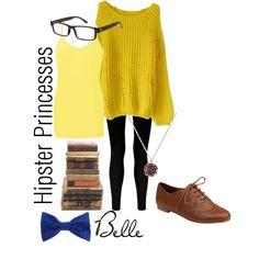 Belle - Hipster Princess