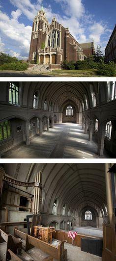St. Agnes Catholic Church, Detroit - (5 Pillars of the Abandoned World - Urban Ghosts #3)