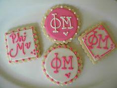 Phi Mu sugar cookies.