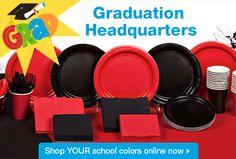 High School Graduation Party Ideas   Bulk Graduation Party Supplies   Graduation Party Decor at DollarTree ...