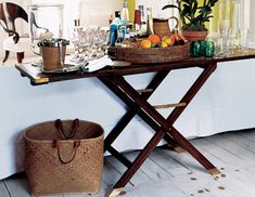 Styling the Bar Cart