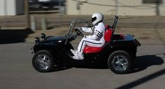 The Stig test drives a Dune Buggy Golf Cart