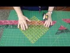 Tube quilting for easy block making.  very clever indeed.