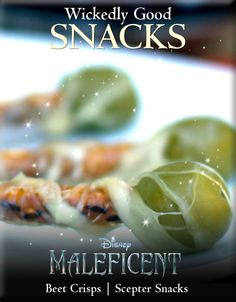 Wickedly Good Maleficent Snacks Recipes For Your Halloween Party! http://www.wdistudio.com/MAL/pnt/MAL_wickidSnacks.pdf