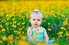 outdoor pictures, yellow flowers, lace flowers, cutest babies, red flowers, baby girls, toddler photography, flower fields, flowers garden