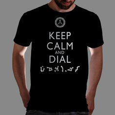 nice one today from artist Boogiebus- Keep calm and dial earth...hope you know the point of origin Qwertee : Limited Edition Cheap Daily T Shirts   Gone in 24 Hours   T-shirt Only £8/€10/$12   Cool Graphic Funny Tee Shirts