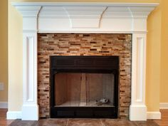 The Albemarle Custom Fireplace Mantle by RedClayWoodworks on Etsy