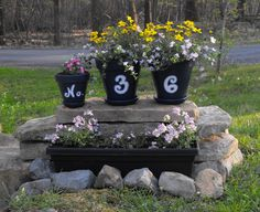 """Would love this in the backyard but would put """"home sweet home"""" on pots"""