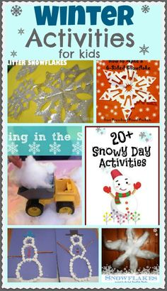 Lots of FUN Winter Activities for Kids! holiday, idea, christma activ, fun stuff, roses, christma craft, winter activities for kids, kiddo, fun winter