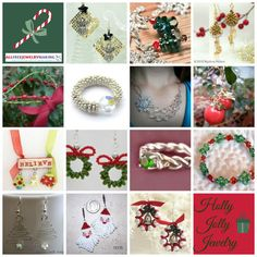 One of the most enjoyable parts of any holiday is dressing for the occasion, and with these festive free jewelry patterns, you'll be twinkling like tinsel all through Christmas! If free beading patterns were on your wish list this year, then you're in luck, because this crafty collection includes 83 Holly Jolly Jewelry Patterns for Christmas to help you celebrate the season in style. | AllFreeJewelryMaking.com