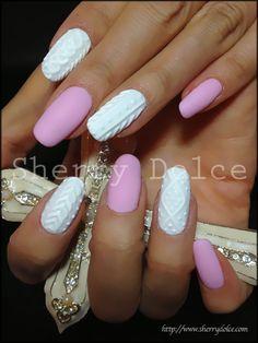 I love how these nails look like porcelain! #nail #nails #nailart