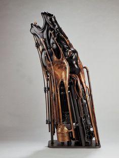 Esculturas em metal por Pierre Matter   Blog Tonka3D