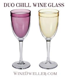 $15 OFF! Limited Time Offer! DUO Chill Wine Glass - Set of 4 only $19.99!