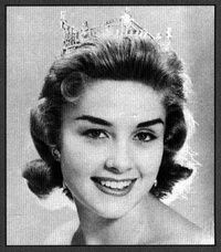After Marian McKnight Conway became Miss America in 1957...she appeared on network television shows, in commercials, and served as a spokesperson for companies like Revlon and Philco. She helped found the Amie Karen Cancer Center for Children at Cedar-Sinai in CA. She & her husband Gary Carmody Conway own a vineyard & winery, Carmody McKnight Estate Wines, on the Central Coast of California. As a sustainable winery with rare soil, the vineyard and its wines have won numerous recognitions.