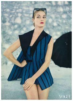 Jean Patchett in Vogue, 1951