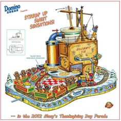 Domino Sugar unveils float for 86th annual Macy's Thanksgiving Day Parade