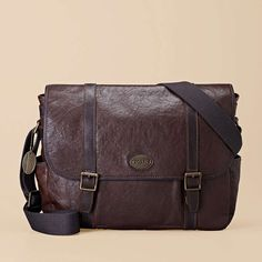 Estate Messenger $248    Our functional, all-leather Estate Messenger has it all - vintage-inspired styling, a padded laptop compartment, and enough interior pockets to keep all of your daily necessities organized.