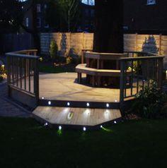 Decks | Garden Lights for Decks Enjoy a Sparkling Backyard with Garden Lights