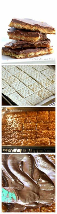Saltine Cracker Toffee