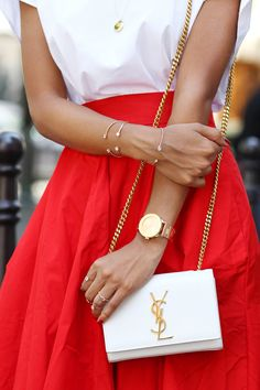 White + Red