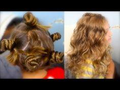Bantu Knot Curls | Easy No-Heat Curl Hairstyles