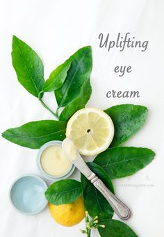 A beauty recipe for making a nourishing and uplifting eye cream at home.