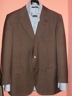 Brioni Nomentano Super 150's wool jacket by Dressyouwant on Etsy, €270.00