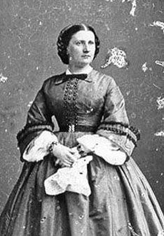 July 3rd, 1903 - Harriet Lane 1830-1903 Philanthropist, U.S. First Lady, died at 73.  At Harriet Lane Johnston's funeral, services were conducted by Bishop Satterlee and Canon DeVries of the Washington National Cathedral. She was buried in Green Mount Cemetery, Baltimore, Maryland.