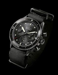 Blancpain Fifty Fathoms Bathyscaphe Flyback Chronograph Watch