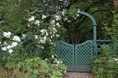 lattice Garden Gate
