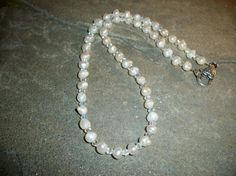 Bridal Necklaces Fresh Water Pearls and by moonknightjewels, $22.00
