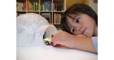 paper mache, craft projects, winter craft