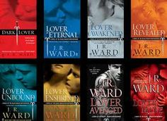 Black Dagger Brotherhood series by J.R. Ward  paranormalromancereads.com