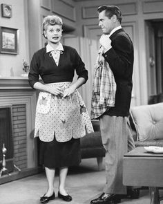 Aprons of the 50's! And I love Lucy!