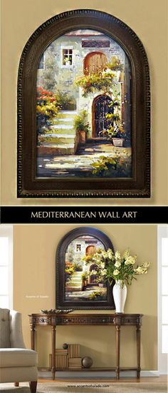 Large Mediterranean Wall Decor : Wall decor for mediterranean style homes on