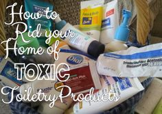 How to ditch toxic products in your home and replace them with safer alternatives #oilyfamilies #youngliving
