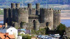 Conwy Castle,Tara Galilor  Castele si palate pline de istorie (partea 1) - galerie foto.  Vezi mai multe poze pe www.ghiduri-turistice.info  Sursa : http://www.castlewales.com/conwy.html
