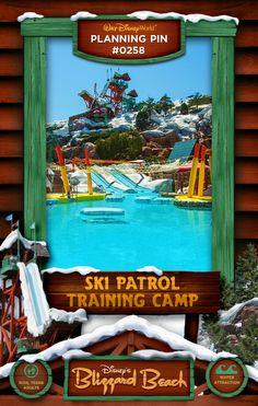 Walt Disney World Planning Pins: Ski Patrol Training Camp