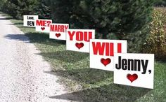 cute proposal ideas dream-wedding-ideas  themarriedapp.com hearted <3 #propose #proposal #engagement #engaged #howtopropose #weddingproposal #proposalideas #shesaidyes