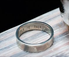 Wedding Ring Via Modern Hepburn