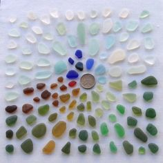 English sea glass